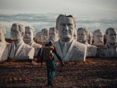 Man en statues