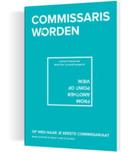 Cover boek commissaris worden